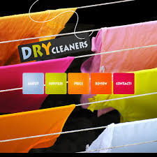 website template 31529 dry cleaning company custom website