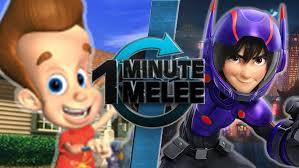 blog alemon97 minute melee jimmy neutron hiro