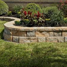 edging home depot rockwall 9 in x 45 2 yukon concrete wall the and garden edging home depot