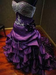 Purple Wedding Dress Royal Purple Wedding Dress Alternative Offbeat Custom Made To