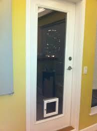 Vinyl Pet Patio Door Pet Ready Exterior Doors View Glass Insert With Built In Door
