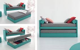 Bed With Pull Out Bed Pull Out Bed Single Contemporary With In Base Storage