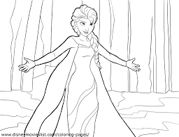 read more frozen coloring page round up nicole pribicevic coloring