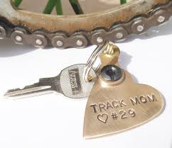track mom personalized keychain mother u0027s day gift for mommy