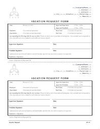 Exle Letter Request Annual Leave sle leave request form facile icon employee vacation forms