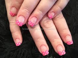 images for u003e acrylic nail designs white tip nails pinterest