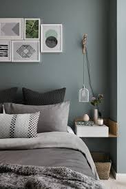 chambre gris vert décoration intérieure décoration mur kaki mur vert de gris