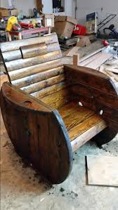 Cable Reel Chair Wire Spool Chair Diy Projects Pinterest Spool Chair Wire