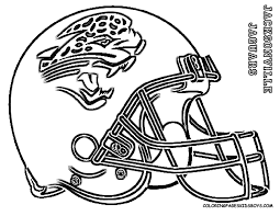 download coloring pages football helmet coloring pages football