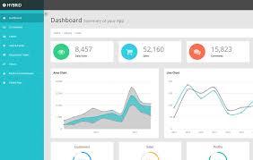 Bootstrap Resume Template Hybrid Bootstrap Admin Template Free Webthemez