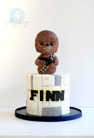 starwars cake how to make a simple chewbacca wars cake mcgreevy cakes