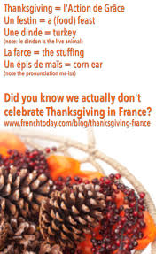 thanksgiving why do we celebrate it how do we celebrate thanksgiving in france learn french