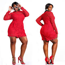 plus size womens red jumpsuit