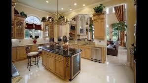 travertine countertops above kitchen cabinet decor lighting