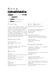 Geologist Resume Art Student Resume Free Resume Example And Writing Download