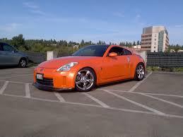 Nissan 350z Orange - gold sf winnings onto solar orange 350z my350z com nissan 350z