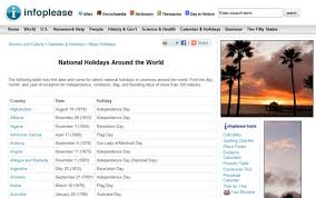 9 great to holidays around the world web cool tips