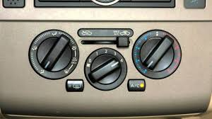 2012 nissan versa hatchback climate controls youtube