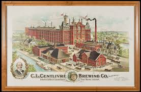 Chicago Brewery Map by Old Crown Brewing Corporation Wikipedia