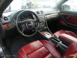 convertible audi red 2004 audi a4 3 0 quattro cabriolet interior photo 50506402