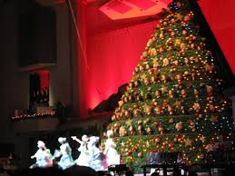 sing christmas tree christmas lights decoration