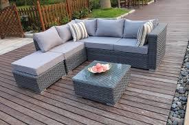 Sofas For Conservatory Conservatory Modular 5 Seater Rattan Corner Sofa Set Garden