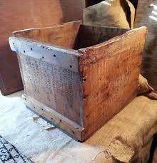 wooden ww2 us navy supply box vintage wood saline bottle