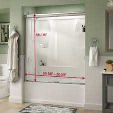 Clear Bathtub Clear Bathtub Doors Bathtubs The Home Depot