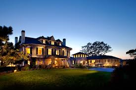 Inside Peninsula Home Design by Exterior Design Luxury Home Design With Outdooor Lighting And