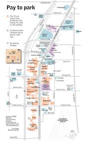 Las Vegas Strip Casino Map by The Cosmopolitan Of Las Vegas Begins Paid Parking U2013 Las Vegas
