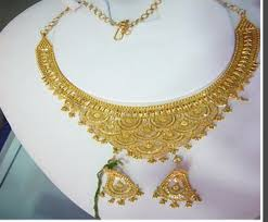 new gold set gold necklace set buy in new delhi