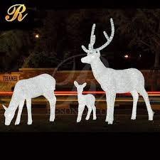 outdoor decorations ideas led reindeer buy outdoor