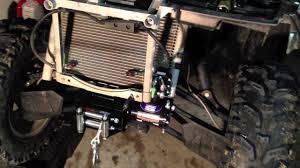 how to install a winch on a 2012 polaris sportman 550xp esp atv