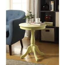 Yellow Side Table Yellow End Tables Accent Tables The Home Depot