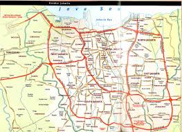 Map Indonesia Jakarta Map