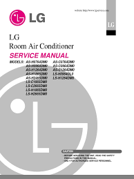 lg split type air conditioner complete service manual docshare tips