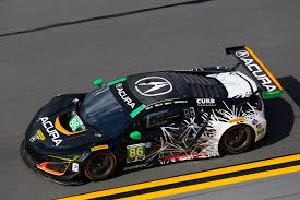 lexus polska youtube top five finish for acura nsx gt3 at daytona debut