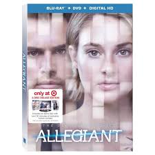 target offering 30 discount on target offers exclusive edition of allegiant dvd
