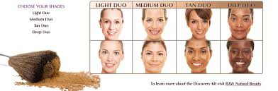 light medium skin tone the best of everything for you review raw minerals discovery kit