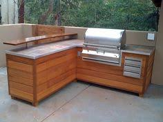 Outdoor Kitchen Bbq Designs by Outdoor Cooking Is Made Easy With This Custom Bbq Station