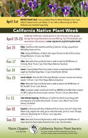 native plant society of oregon events marin rcd