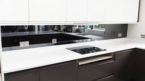 Kitchen Splashback Ideas Uk Beautiful White Kitchen Mirror Splashback Intended Decorating