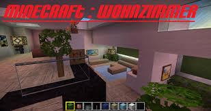 Youtube Wohnzimmer Einrichten Minecraft Wohnzimmer German Hd Modern Youtube