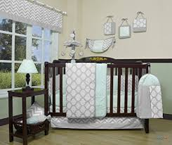 Boutique Crib Bedding Geenny Boutique Baby 13 Crib Bedding Set Soft Mint Green