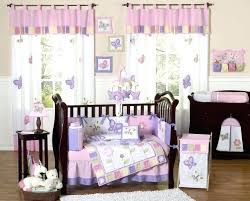 Dahlia Nursery Bedding Set Dahlia Nursery Bedding Set Valance Ideas For Nursery