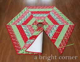 a bright corner jolly tree skirt