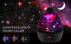 childrens night light projector newest generation star light projector scopow rotation star night