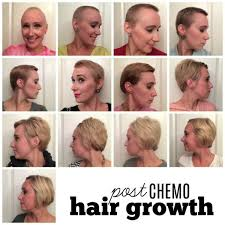 hairstyle for when hair grows back after chemo a year in post chemo hair lissa yanak