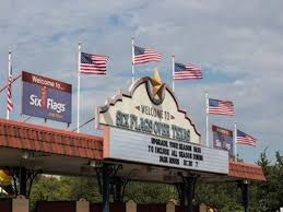 six flags will only fly american flags