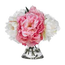 peony bouquet diane home blooms pink and white peony bouquet gracious home